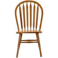 Slumberland Furniture | Jefferson Oak Arrow Back Side Chair