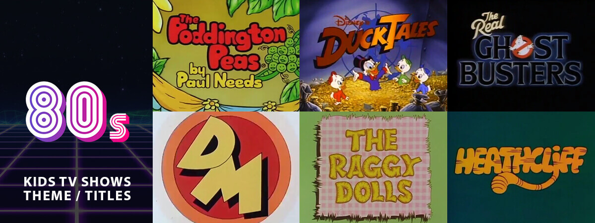1980s Animated Children\u0027s TV Title Sequences  Theme Tunes - Part 1 - animation title