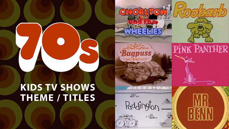 1970s Animated Children\u0027s TV Title Sequences  Theme Tunes - animation title