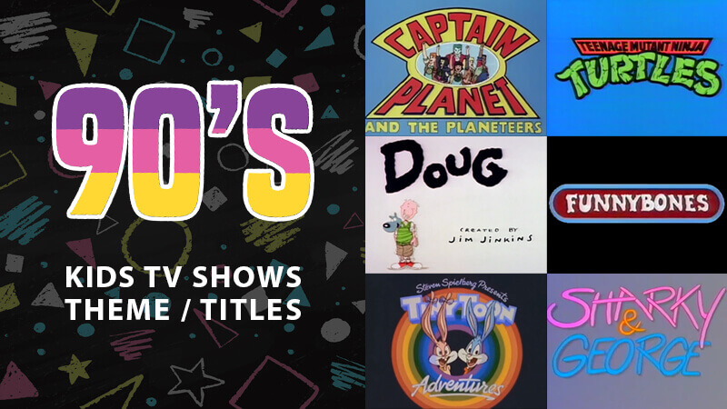 1990s Animated Children\u0027s TV Title Sequences  Theme Tunes - animation title