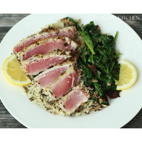 Medium Crop Of Baked Tuna Steak Recipe