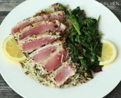 Small Of Baked Tuna Steak Recipe
