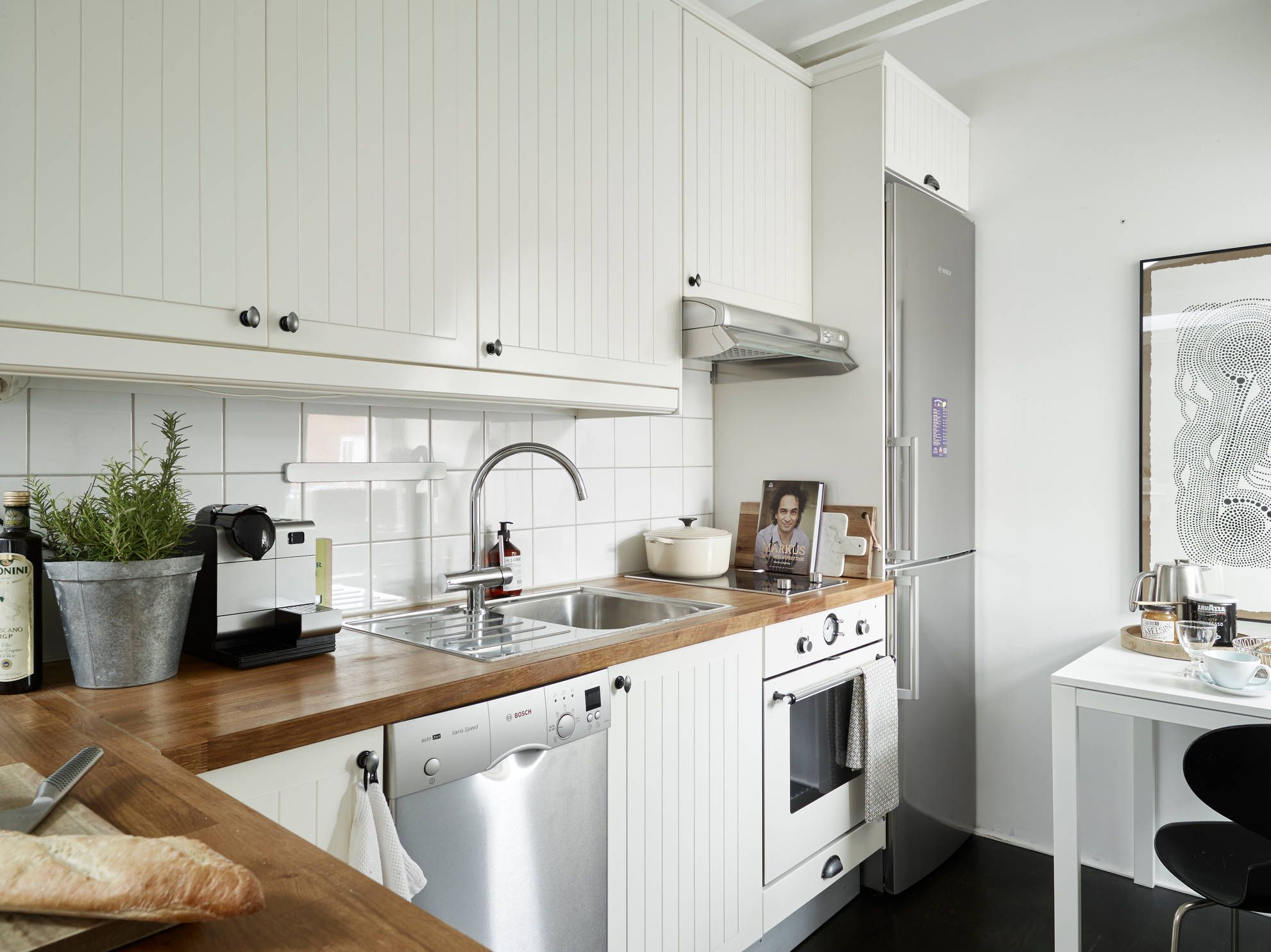 Supple Placing Appliances A Small You Need To To Avoid Clutterand Narrow Option Is Creating Small Kitchen Space Organizing Design Ideas Small Design Ideas kitchen Kitchen Furniture For Small Kitchen