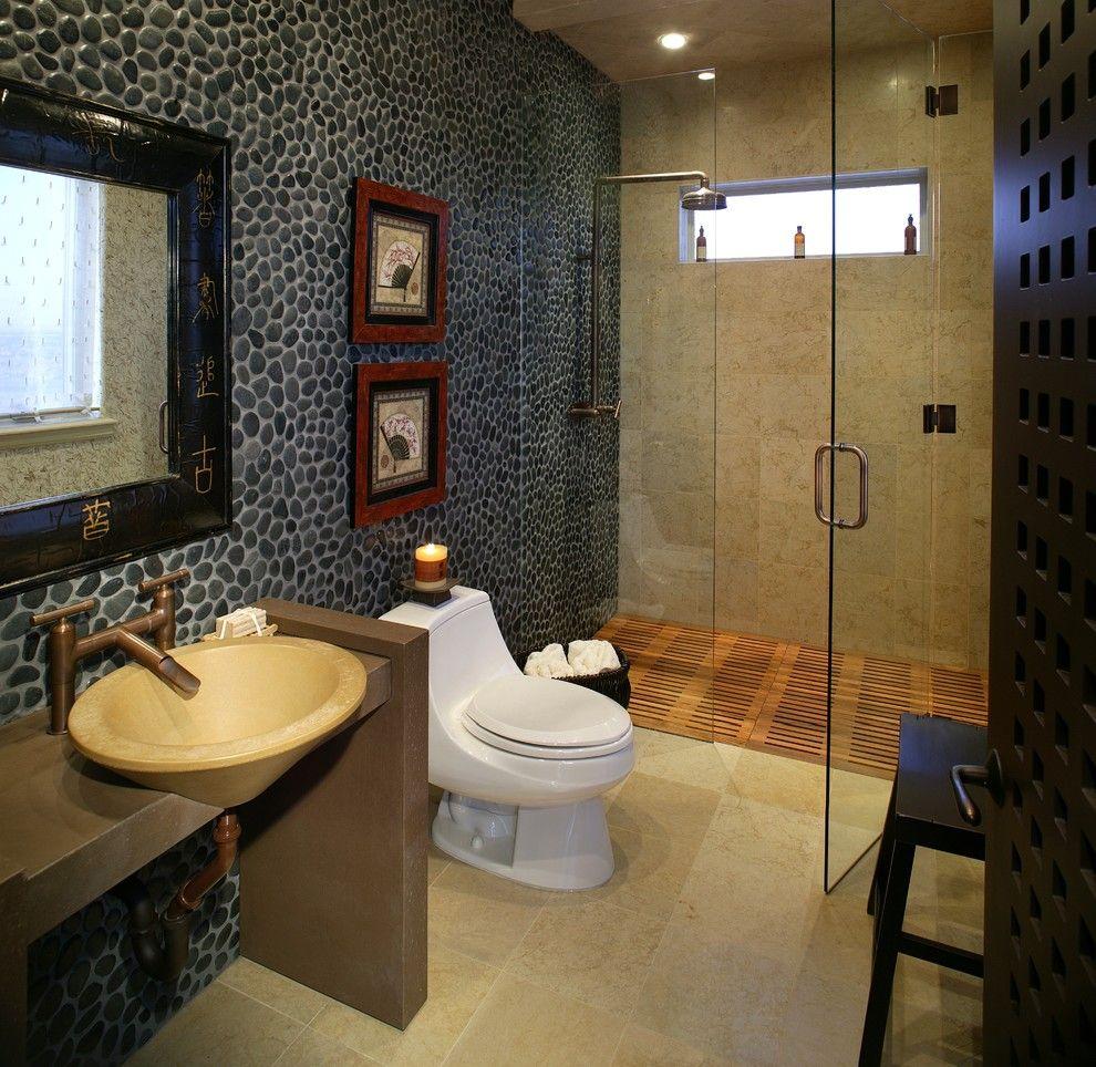 asian inspired bathroom decor