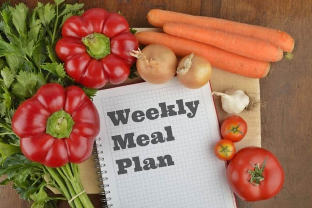 Save Money and the Planet with Meal Planning Small Footprint Family - basic meal planner