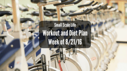 Workout Plan; Diet Plan; Weekly Plan; Spin Class; Cycling Swimming; Weightlifting; Elliptical Trainer; Kayak; Kayaking; Active Lifestyle; Fitness; Cycling