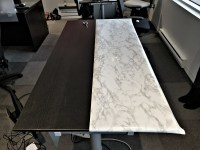 Marble Contact Paper: How to Give Your Table a Makeover