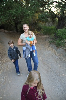 Family Hike in the Saddleback mountains