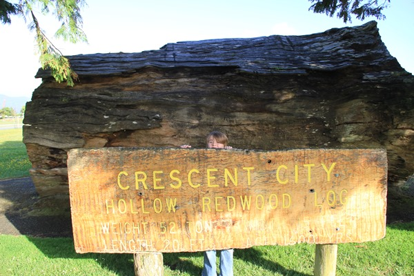 Crescent City sign