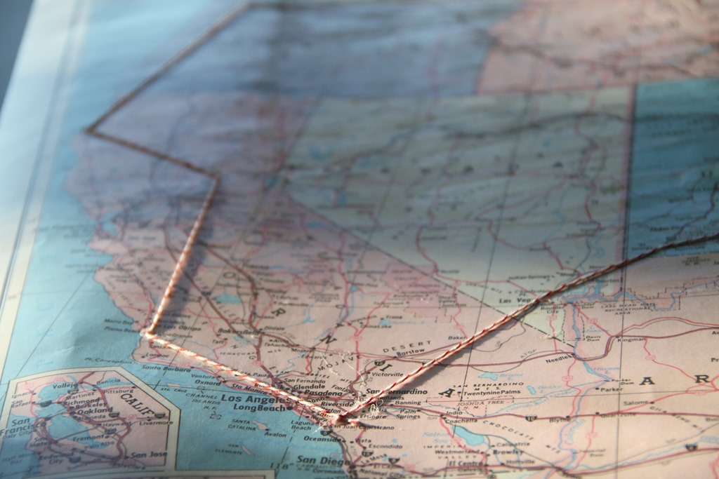 DIY Roadtrip Travel Route Map keeping your memories alive – Map Out Travel Route