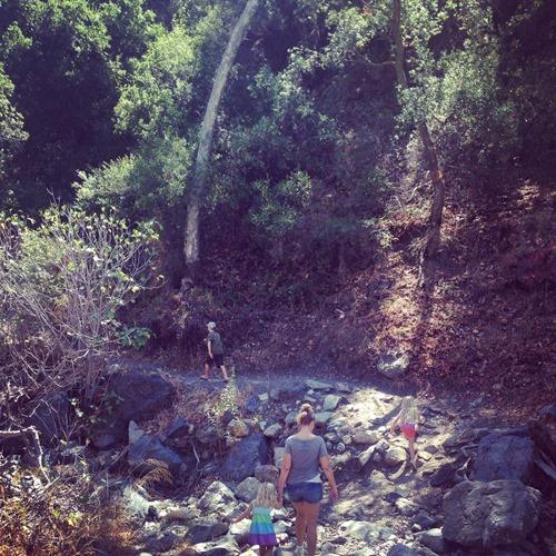 holy jim falls hike is beautiful