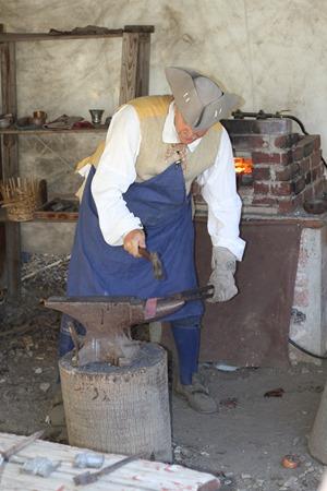 Riley's Farm blacksmith