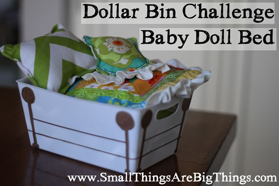 baby doll bed challenge