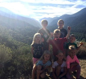 Forest Home Family Camp hike