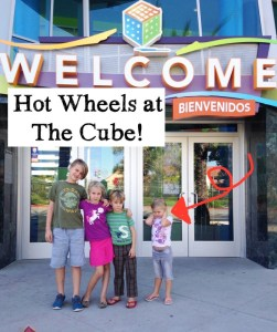 Hot Wheels Exhibit at the Cube… because kids like cars