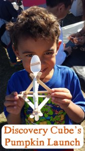 Discovery Cube's Pumpkin Launch – Science is a Blast!