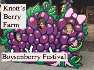 The Boysenberry Festival at Knott's Berry Farm is Like Eating a Berry that Never Ends!
