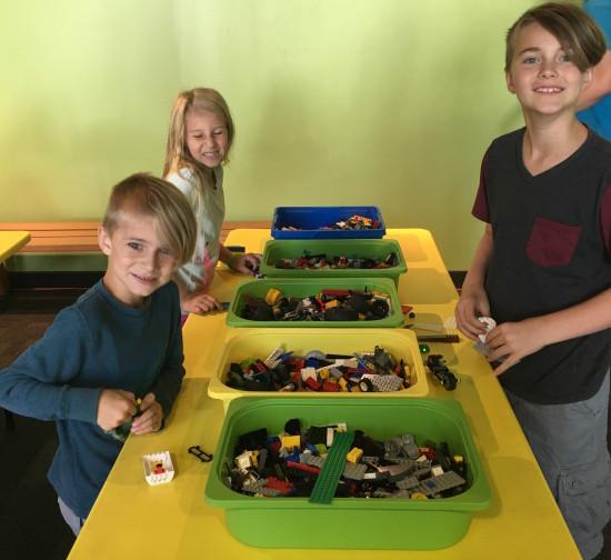 building exploding legos