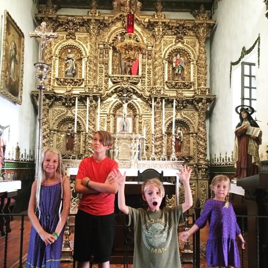 serra chapel alter