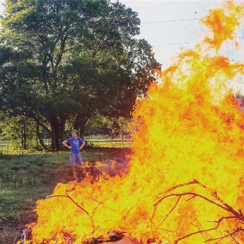 Dallas burn pile