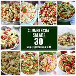 Small Of Cowboy Pasta Salad