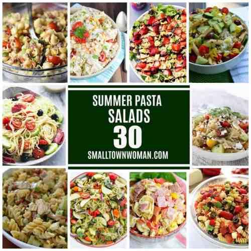Medium Of Cowboy Pasta Salad