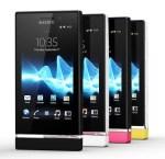Sony Xperia U, Xperia P, Xperia go y Xperia sola reciben actualización de firmware