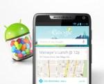 Motorola RAZR M comienza a recibir actualización a Android Jelly Bean