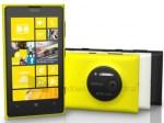 Nokia Lumia 1020 aparece en colores amarillo, negro y blanco; detalles de hardware