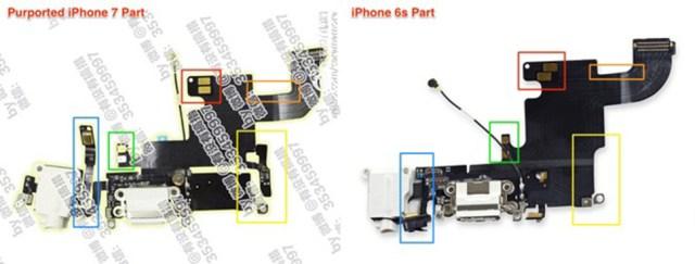 iphone siete componente