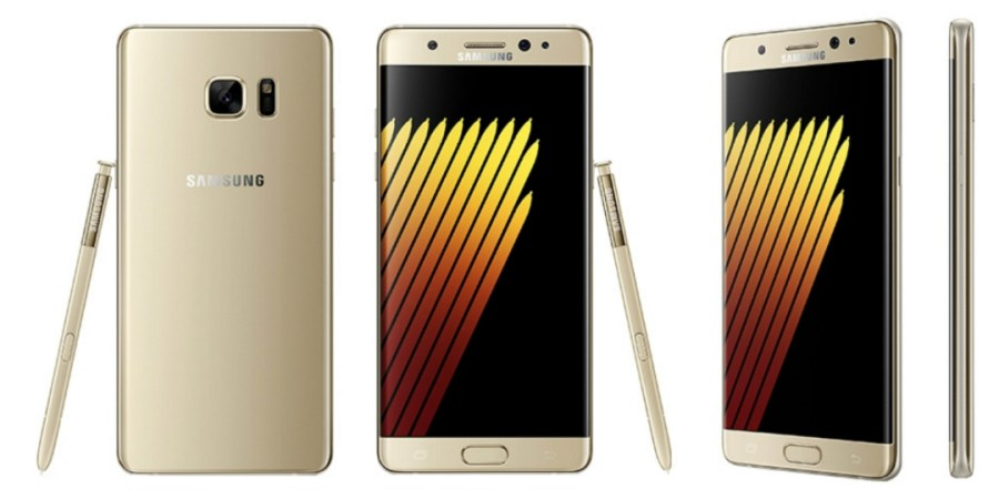Samsung Galaxy™ Note7 dorado