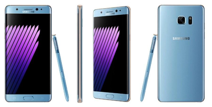 Sasmung Galaxy™ Note siete azul