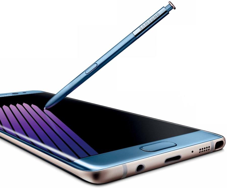 Samsung Galaxy™ Note7 render oficial con S Pen