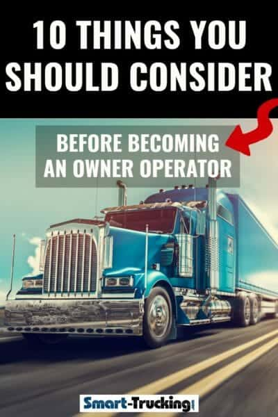 Top 10 Tips to Becoming a Successful Owner Operator