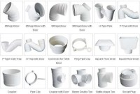 PVC-U Sewage pipes fittings manufacturer-supplier China