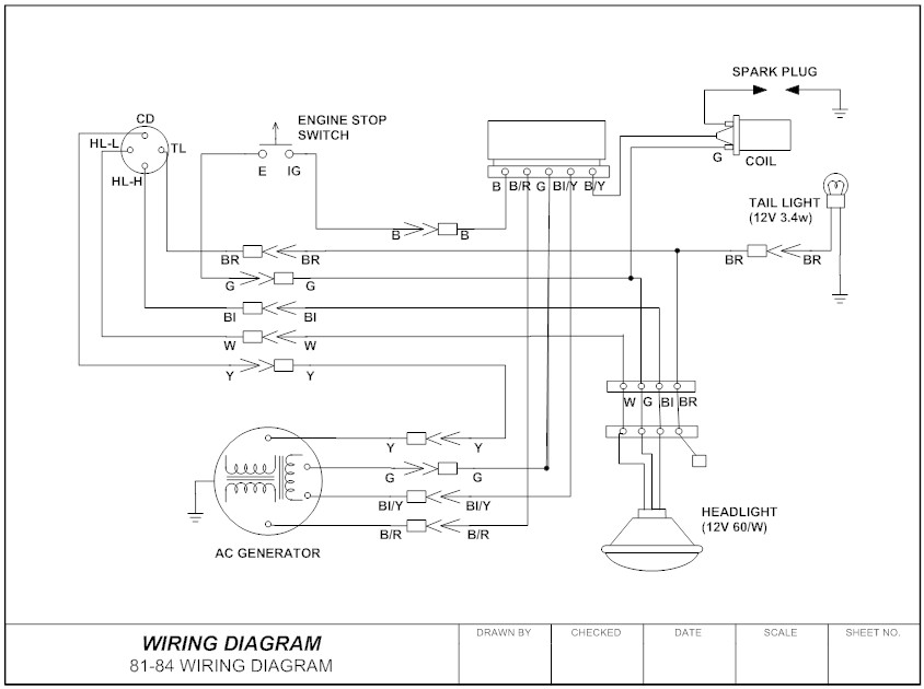 schematic wiring generator to house
