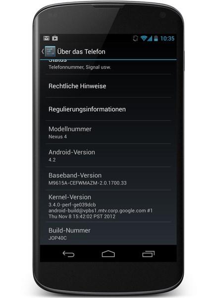 Nexus 4 JOP40C