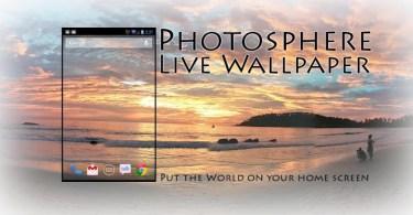 Photo Sphere Live Wallpaper