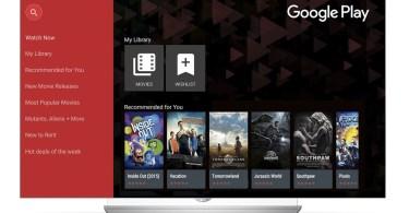LG Google Play Movies