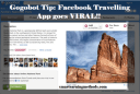 Gogobot Tips: Facebook Travel App Goes Viral!