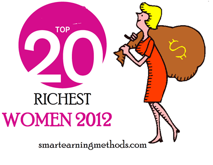 top 2o richest women of the world 2012