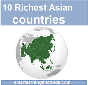 10 richest asian countries