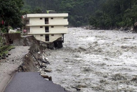 Uttarakashi flash flood