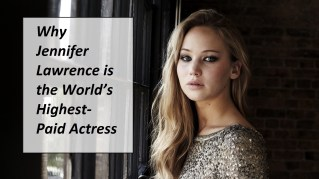 Why Jennifer Lawrence is the World's Highest-Paid Actress