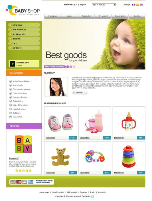 3. baby shop