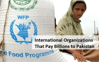 International Organizations That Pay Billions to Pakistan