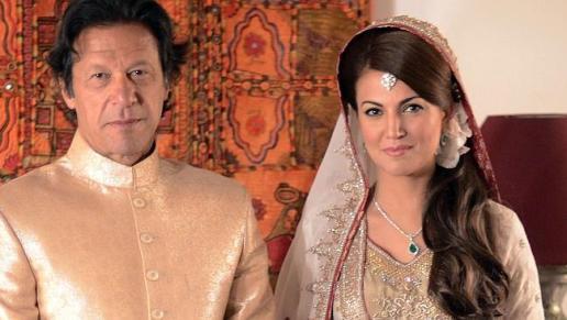 5. Imran Khan and Reham Khan