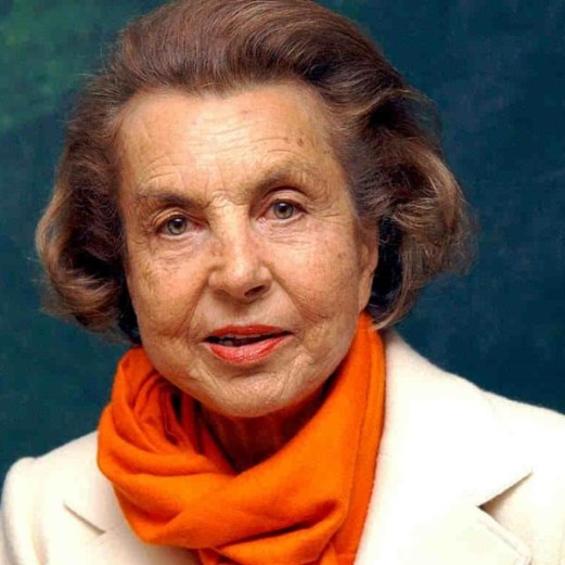 1 Liliane Bettencourt and family
