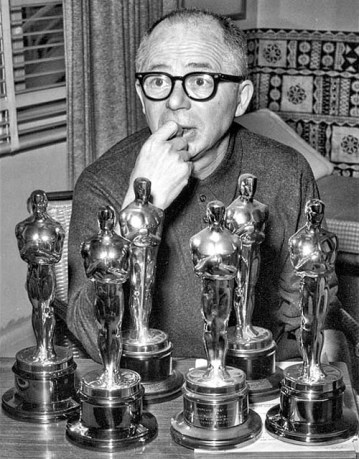 Billy Wilder  Gaary Rydstrom  Rick Baker  Edith Head Alfred Newman Cedric Gibbons most Oscar Winner