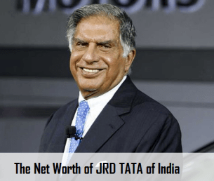 Net worth of JRD TATA of India